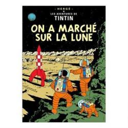 Affisch - On a marché sur la lune