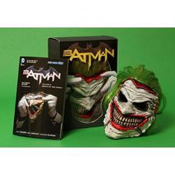Batman Vol 3: Death of the Family Book and Joker Mask Set