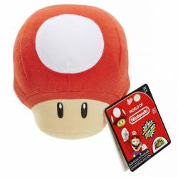 Nintendo: Super Mario SFX Plush Power Up Mushroom