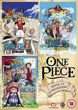 One Piece Movie 1-3 Collection