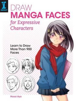 Draw Manga Faces for Expressive Characters