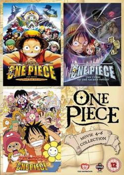 One Piece Movie 4-6 Collection