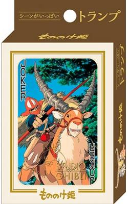 Princess Mononoke - playing Cards
