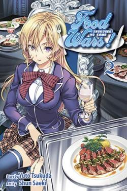 Food Wars Vol 2