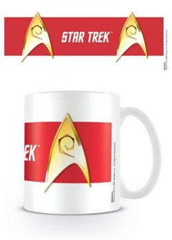 Star Trek Engineering Red Mug