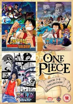 One Piece Movie 7-9 Collection