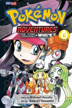 Pokemon Adventures Black & White Vol 6