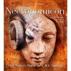 Necronomicon: Dark Fantasy, Digital Art & H P Lovecraft