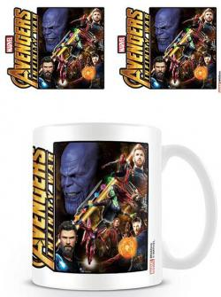 Avengers Infinity War Mug Space Montage