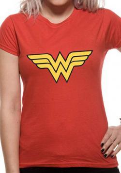 Wonder Woman Logo Ladies T-Shirt