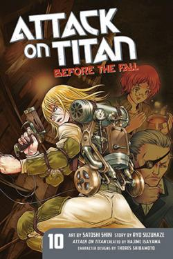 Attack on Titan Before the Fall 10
