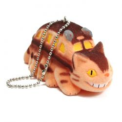 My Neighbor Totoro Flocking Key Chain Catbus
