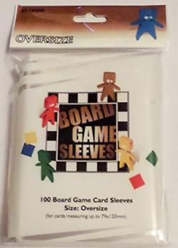 Boardgame Sleeves Oversize Clear (79*120mm)