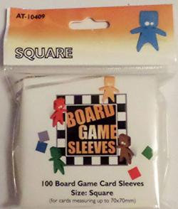 Boardgame Sleeves Square Clear (70*70mm)