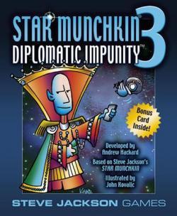 Star Munchkin 3 - Diplomatic Impunity