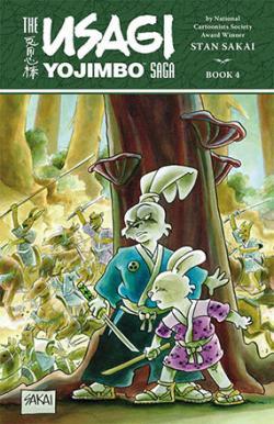 The Usagi Yojimbo Saga Vol 4