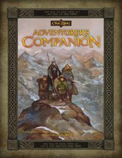 The One Ring RPG - The Adventurers Companion