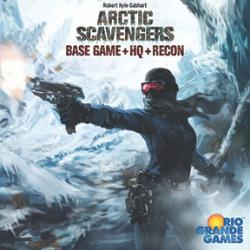 Arctic Scavengers Base Game - with HQ and Recon Expansions