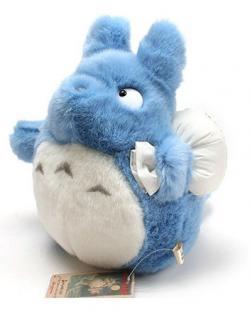 My Neighbor Totoro Plush Figure Blue Totoro 25 cm