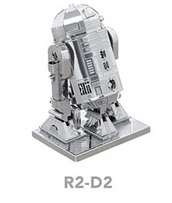 MetalEarth R2-D2 3D Metal Model Kit