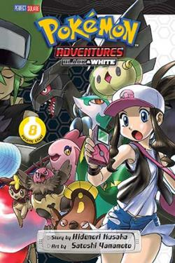 Pokemon Adventures Black & White Vol 8