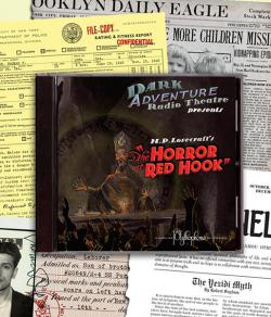 Horror at Red Hook - audio drama CD