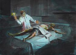 Mythos Postcard: Herbert West - Reanimator