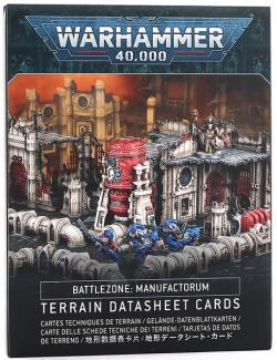 Terrain Datasheet Cards - Battlezone Manufactorum