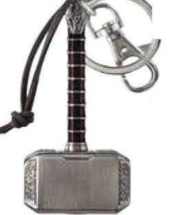 Key Chain: Thor Hammer (Mjolnir)