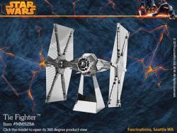 MetalEarth TIE Fighter 3D Metal Model Kit