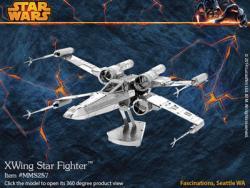 MetalEarth X-Wing Star Fighter 3D Metal Model Kit