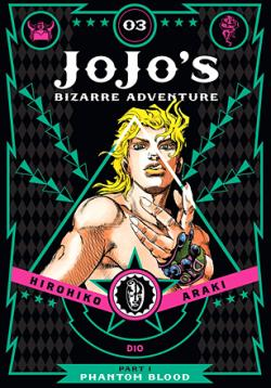 Jojo's Bizarre Adventure Phantom Blood Vol 3
