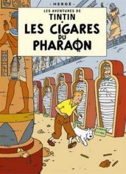 Affisch - Les Cigars du Pharaon