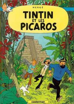 Affisch - Tintin et les picaros