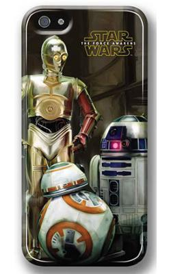 Star Wars The Force Awakens iPhone 5 Droids Case