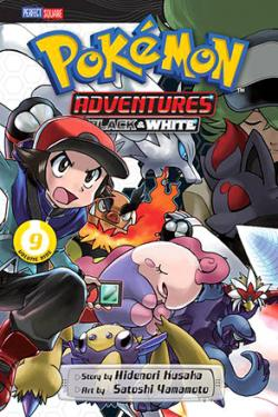 Pokemon Adventures Black & White Vol 9