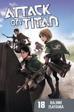 Attack on Titan vol 18