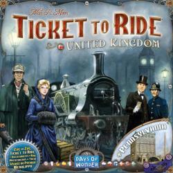 Ticket to Ride - United Kingdom & Pennsylvania