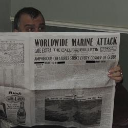Dagon Newspaper 1935