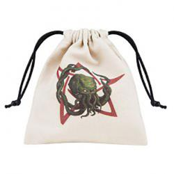 Dice Bag: Beige Call of Cthulhu Bag