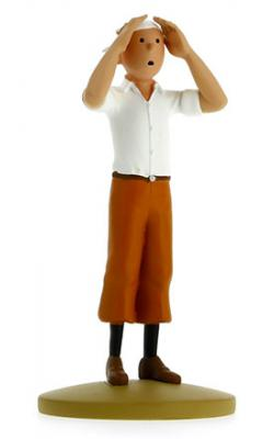 Figur 12 cm resin Tintin i öknen