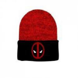 Beanie: Deadpool - Logo Cuffed Red