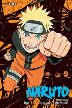 Naruto 3-in-1 Vol 13