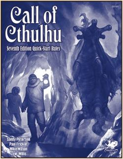 Call of Cthulhu 7th Edition Quick Start Rules