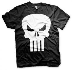 The Punisher Skull Black