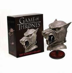 Game of Thrones Hound's Helmet Minature Replica & Book Kit
