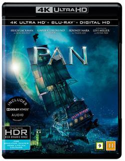 Pan (2015, 4K Ultra HD+Blu-ray)
