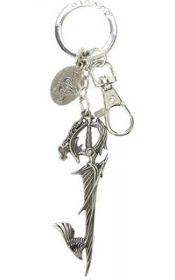 Kingdom Hearts Way to the Dawn Keyblade Pewter Key Chain