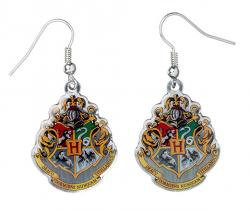 Harry Potter Earrings Hogwarts Crest