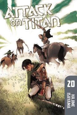 Attack on Titan vol 20